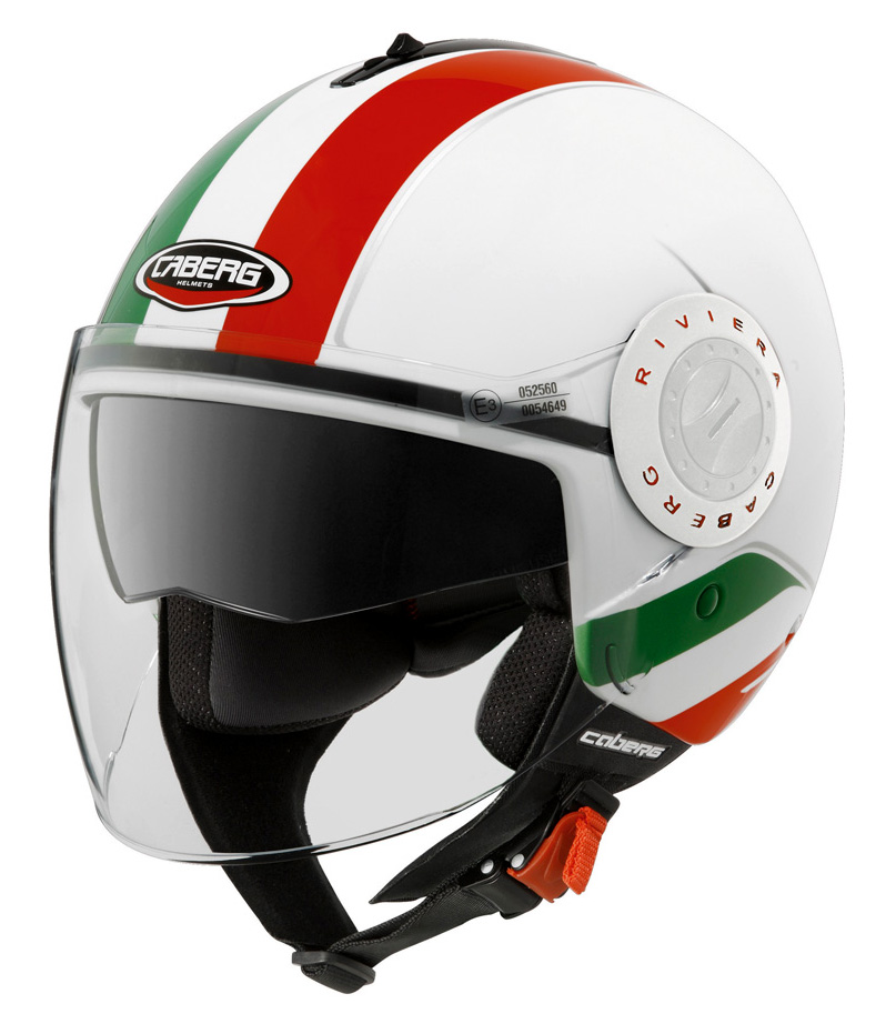 casco caberg riviera v3 italia taglia m doppia visiera omologato ebay. Black Bedroom Furniture Sets. Home Design Ideas