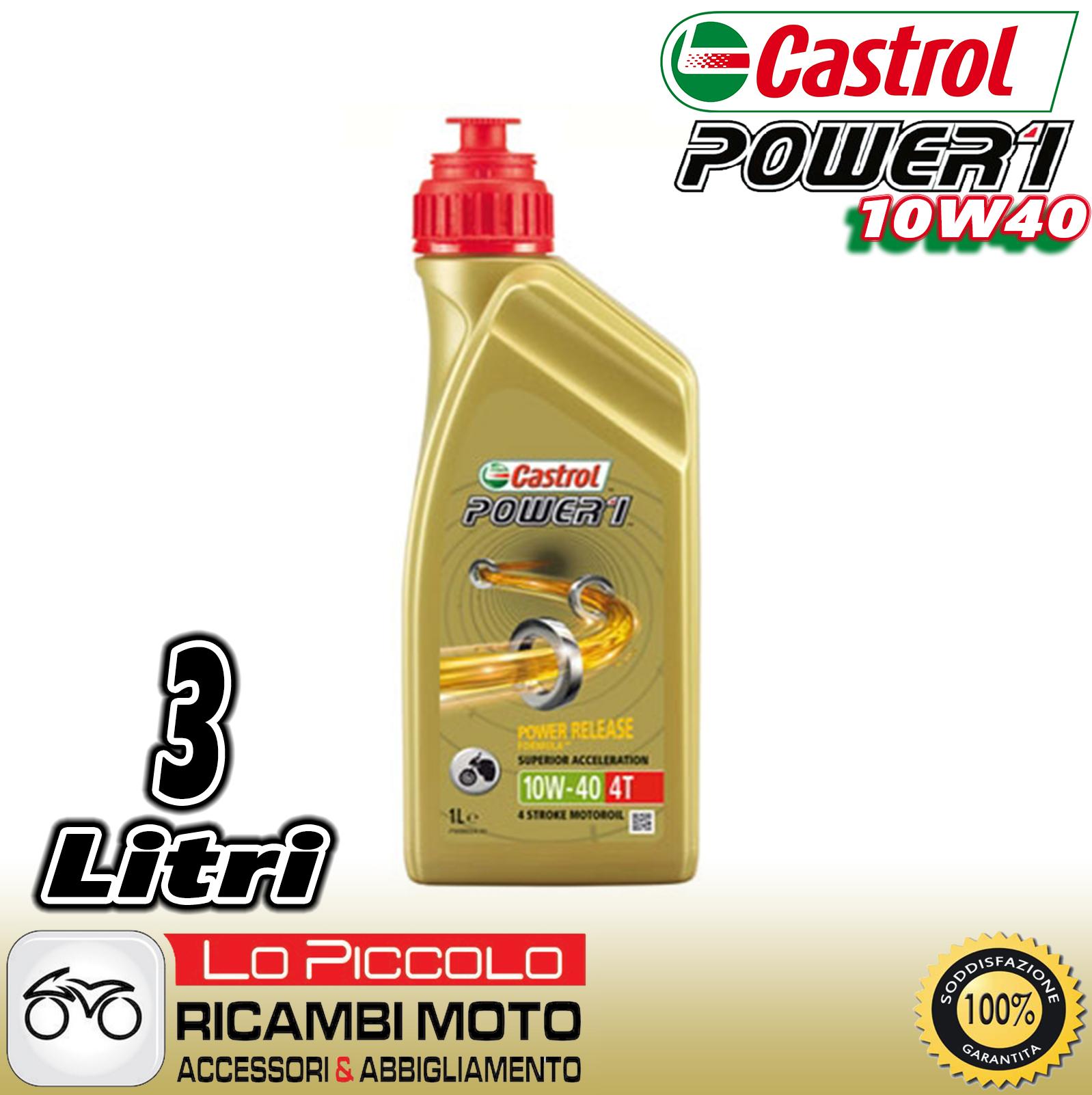 Olio Gps 4t 10w40 Power 1 CASTROL: Amazon.it: Auto e Moto