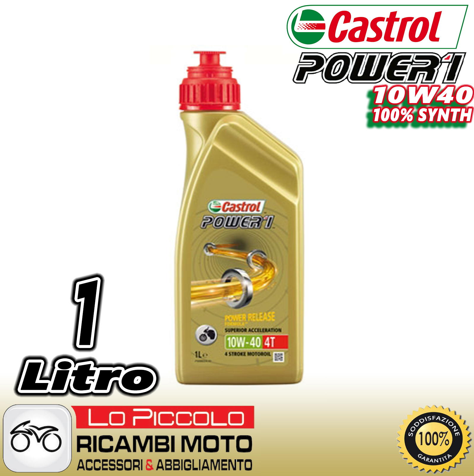 motor l castrol power 1 4t 10w 40 motoren 4 mal jaso ma 2. Black Bedroom Furniture Sets. Home Design Ideas
