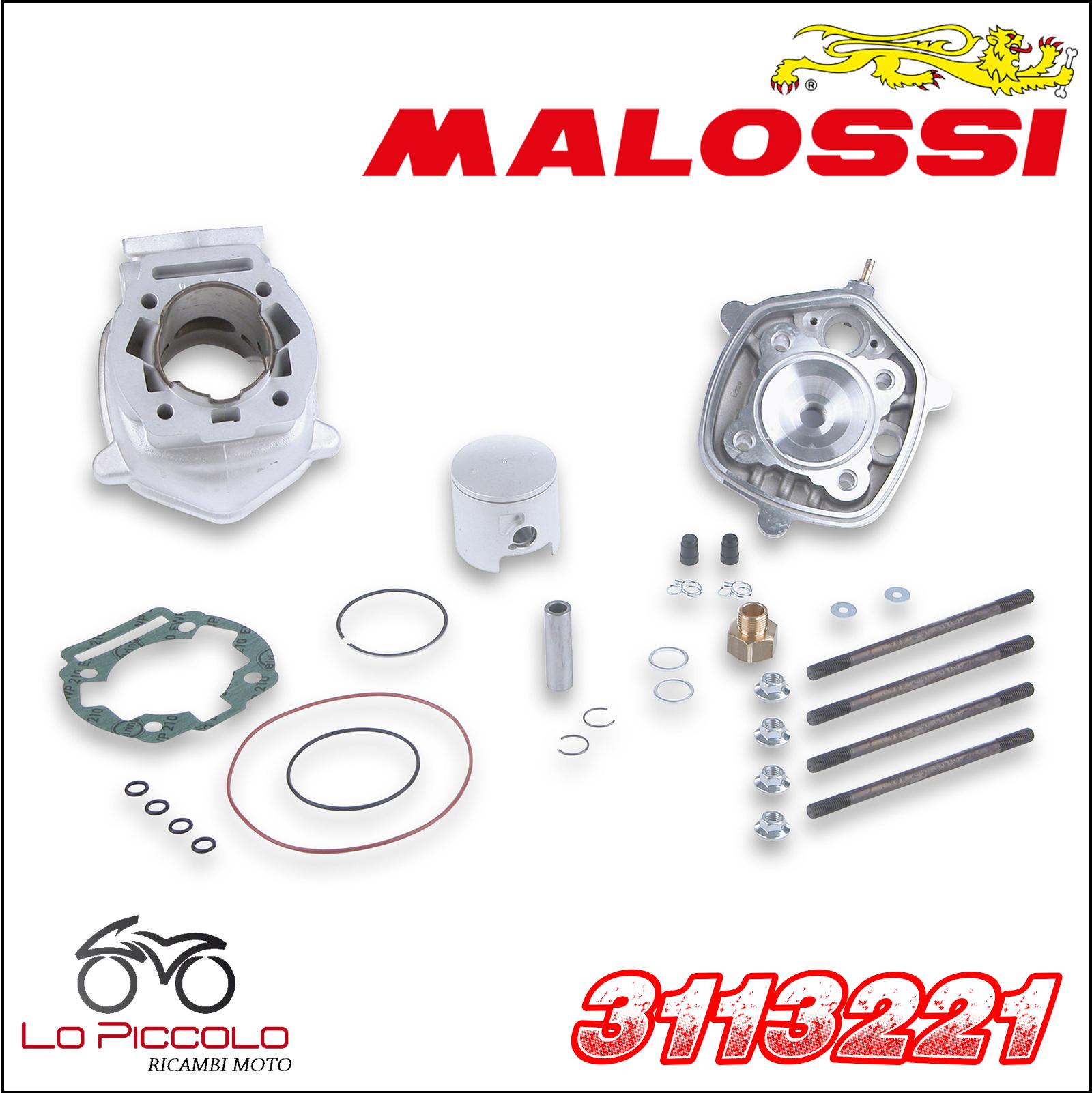 Thermal Unit MALOSSI Aluminium H2O Derbi Senda DRD pro R